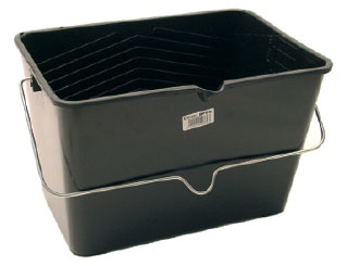10L Black Plastic Scuttle