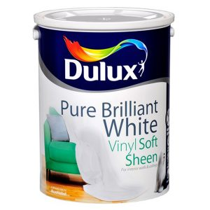 Dulux Vinyl Soft Sheen Pure Brilliant White