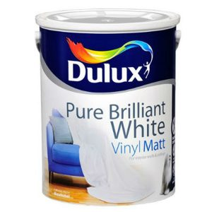 Dulux Vinyl Matt Pure Brilliant White