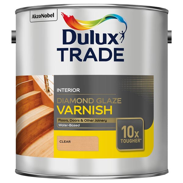 Dulux Diamond Glaze Clear Varnish Satin