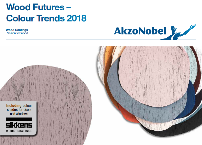 Sikkens colour trends: 2018 on-trend colour palette