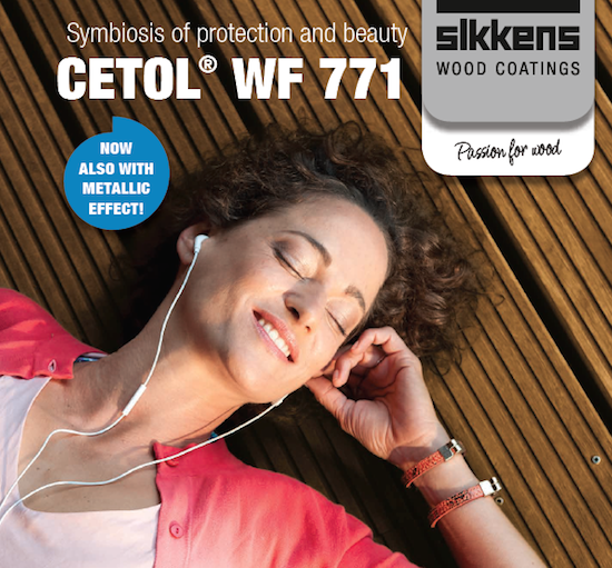 Sikkens exterior wood protection - brochure cover photo