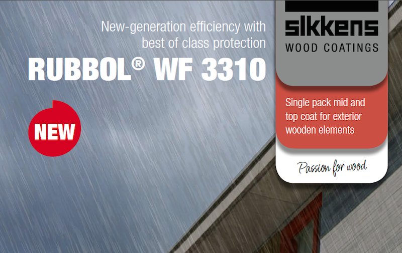 COMING SOON: New Generation Sikkens RUBBOL® WF 3310 | Carbon Paint