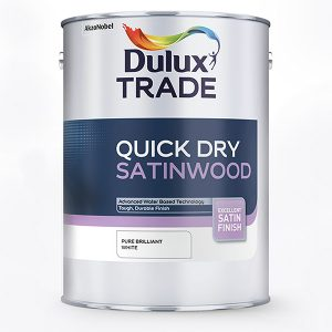 Quick Dry Satinwood - Pure Brilliant White