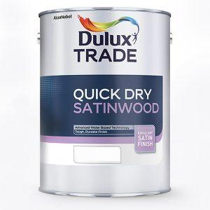 Dulux Trade Quick Dry Satinwood