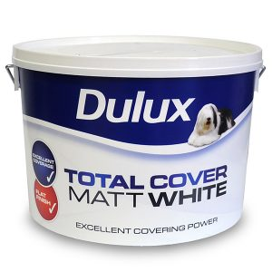 Dulux Total Cover Matt White