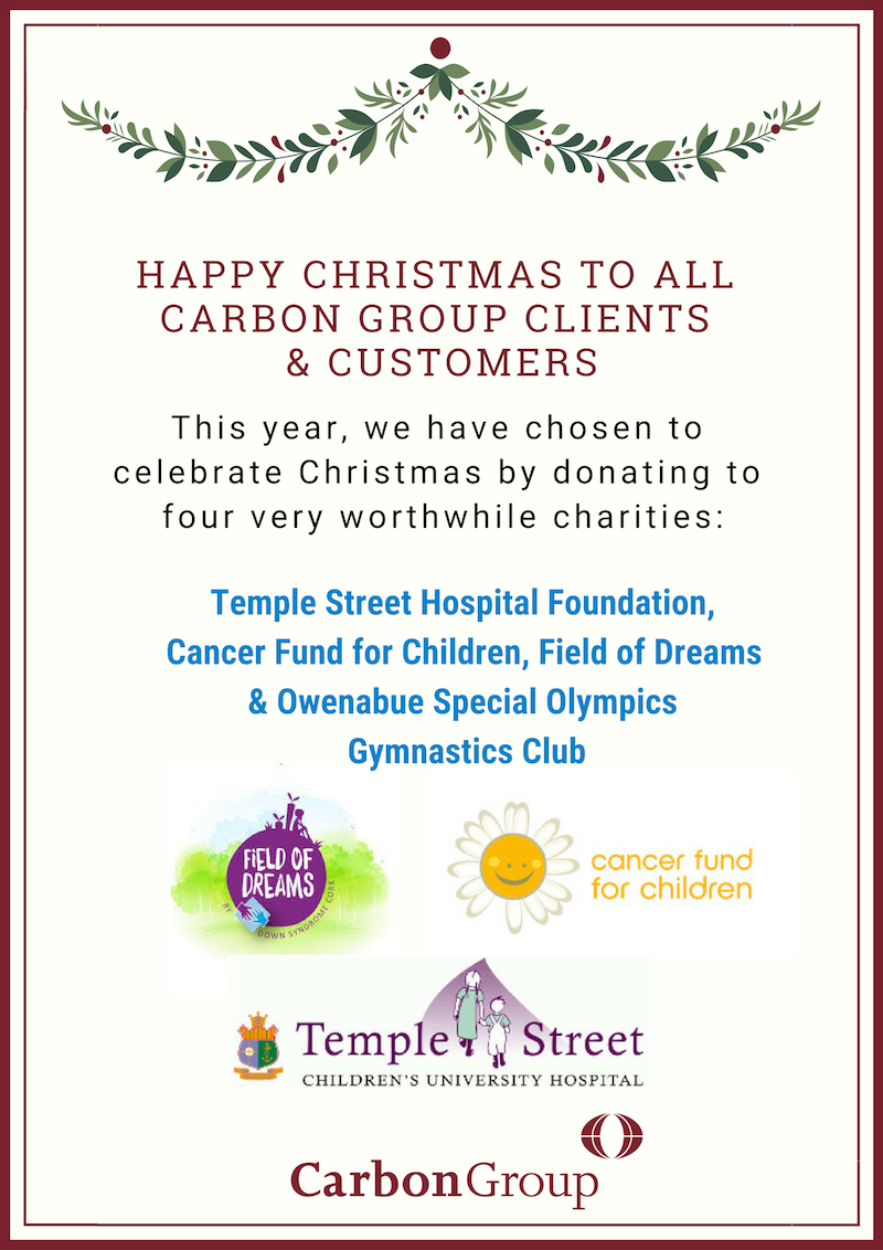 Carbon Paint Centre Christmas charity donations