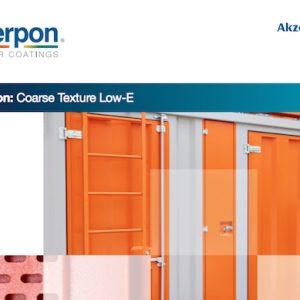 Interpon Course Texture Low-e Range