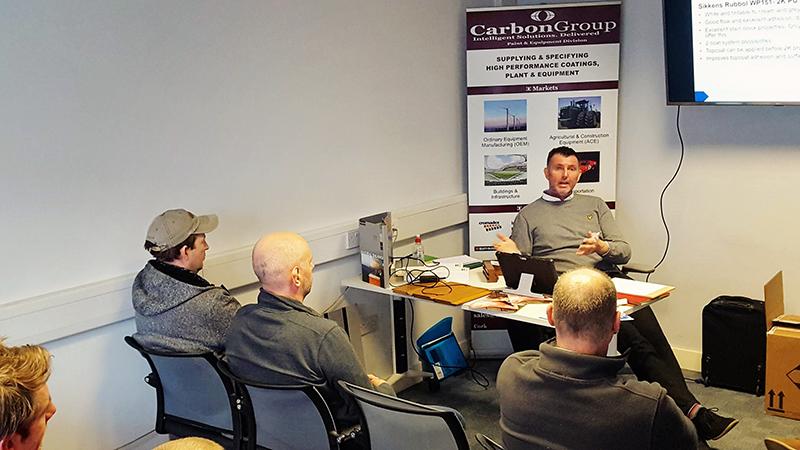 Sikkens training at Carbon Paint Centre