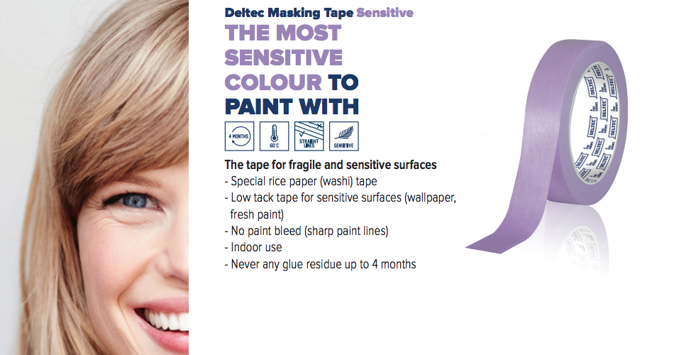 Deltec masking tape promo image