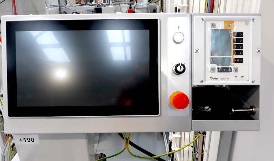 Gema monitor interface installed by Carbon Group
