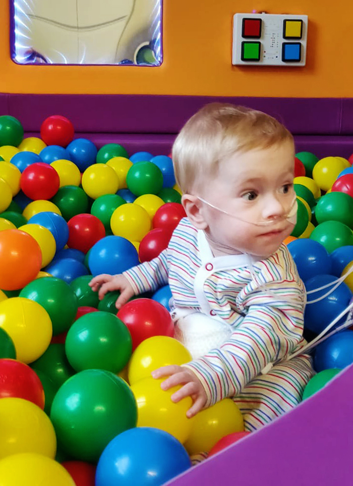 13-month old Baby Jake O'Donovan from Tralee, Co. Kerry.