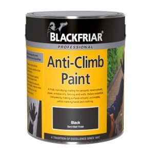 Product image - BlackFriar Anti-climb paint (black)