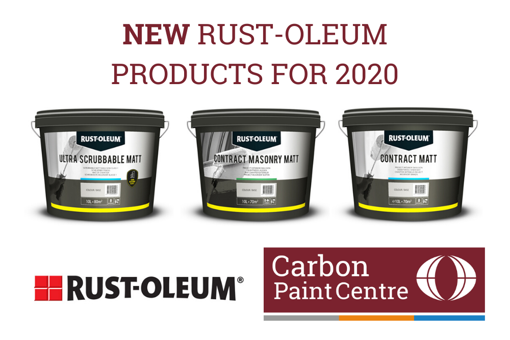 New Rust-Oleum products now available in our online store - new for 2020!
