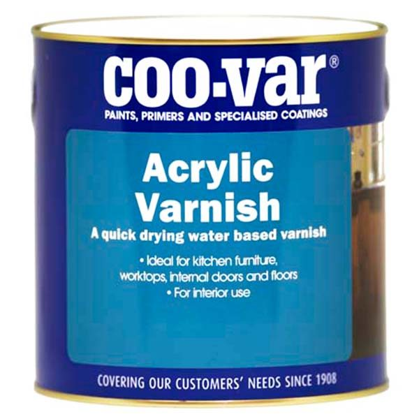 Coo-Var Acrylic Varnish