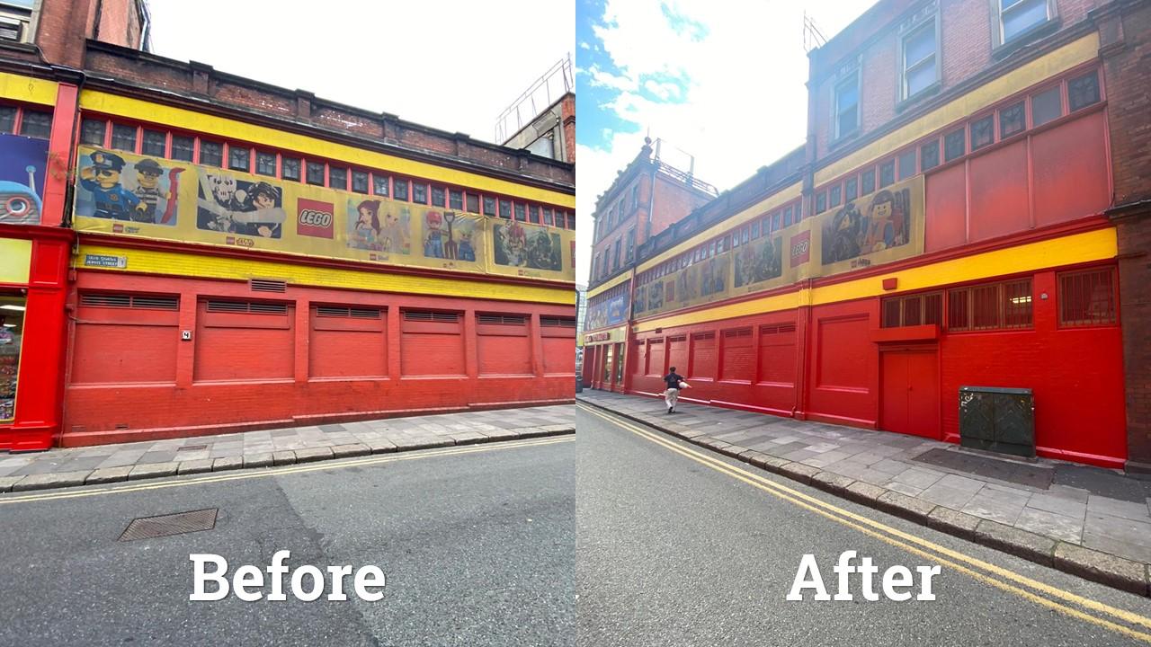 Vibrant Make-over for Toymaster, Jervis Street in Dublin