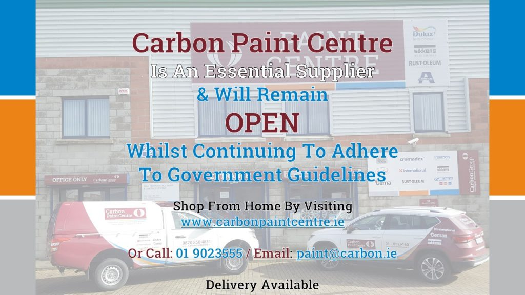 Carbon Paint Centre remains open during Level 5 as an essential business