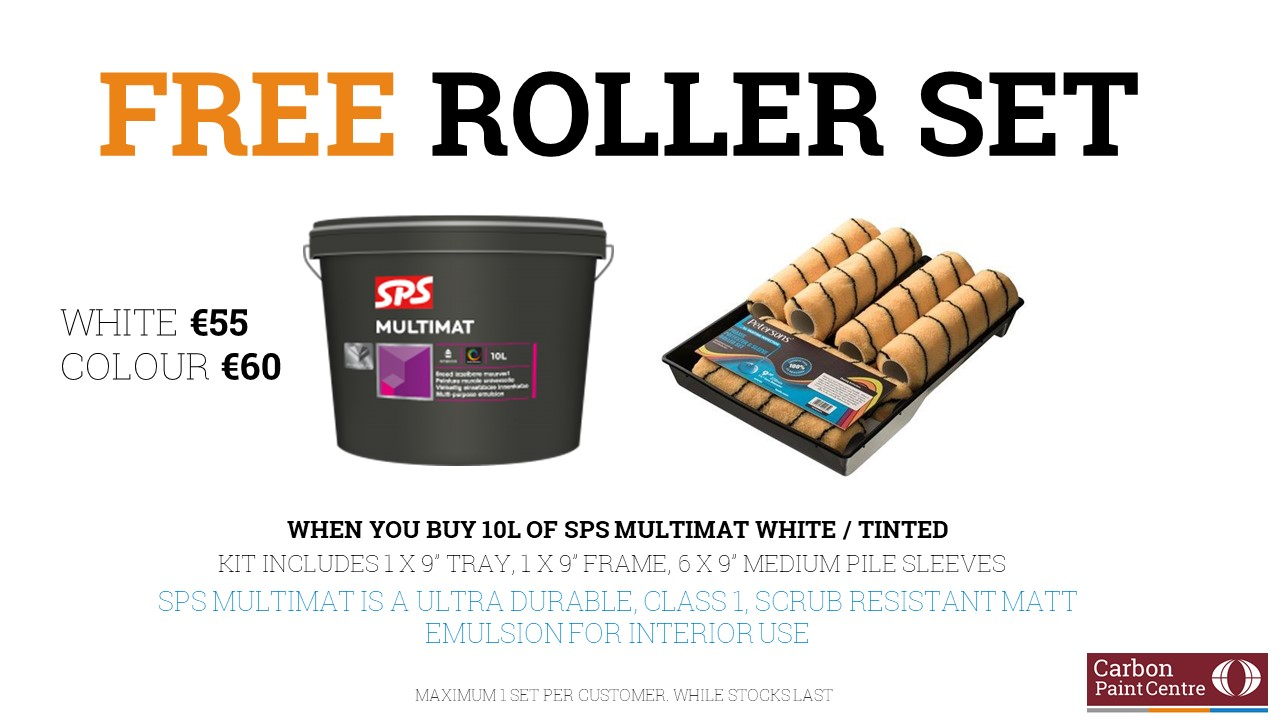 SPS Free Roller Set Offer