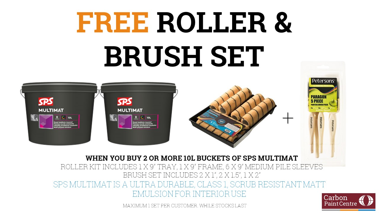 Free Roller & Brush Set Promo - SPS Products