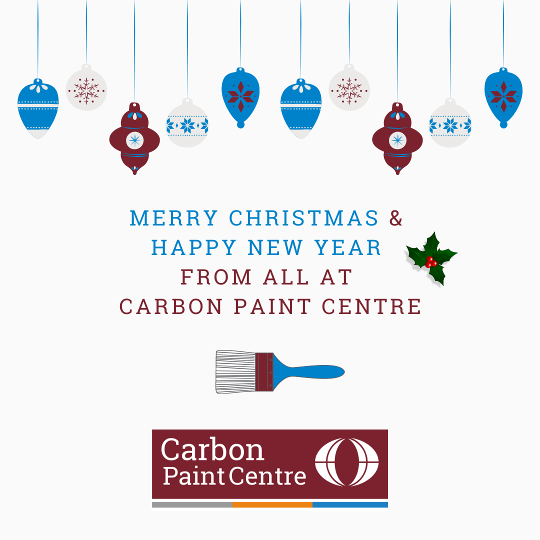 Happy Christmas From All at Carbon Paint Centre