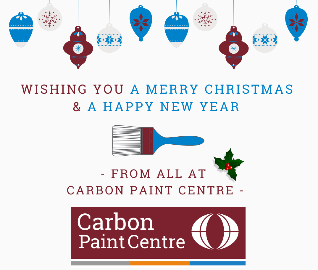 Merry Christmas Message From Carbon Paint Centre - thumbnail image