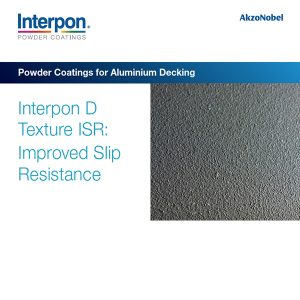 Image of brochure cover for Interpon D Texture ISR