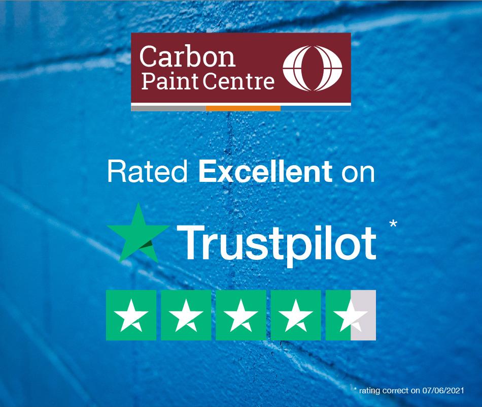 Carbon Paint Centre is rated 'Excellent' on Trustpilot