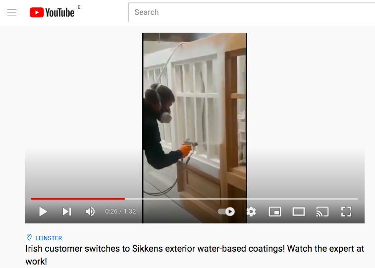 Expert uses Sikkens Aqua Polyuerthane with impressive speed, ease and expertise!